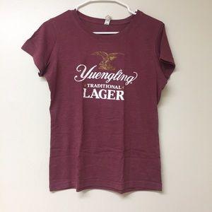 Maroon yuengling t-shirt